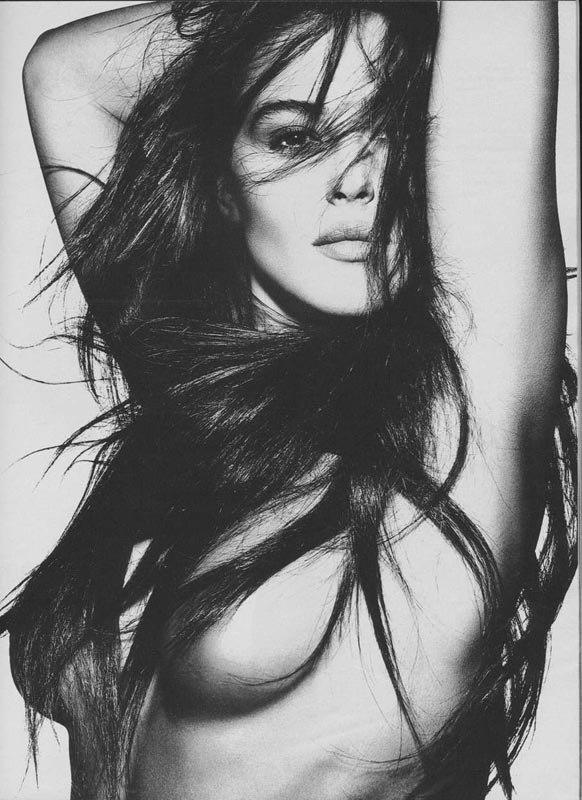 Monica Bellucci in Prestige Magazine.
